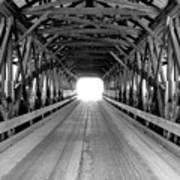 Henniker Covered Bridge Art Print