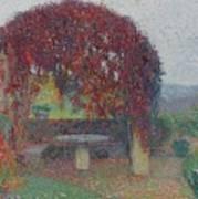 Henri Jean Guillaume Martin 1860 - 1943 The Bower Flowers Art Print