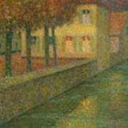 Henri Le Sidaner 1862 - 1939 Home Channel Art Print