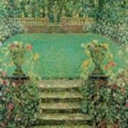 Henri Le Sidaner 1862 - 1939 Market Garden, Gerberoy Art Print