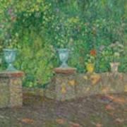 Henri Le Sidaner 1862 - 1939 The Pots Faience Art Print
