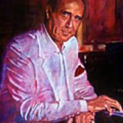 Henry Mancini Art Print by David Lloyd Glover