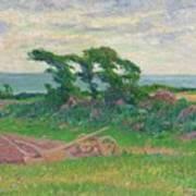 Henry Moret 1856 - 1913 The Plough Art Print