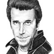 Henry Winkler The Fonz Art Print