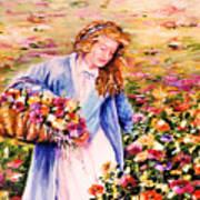 Her Irish Garden Art Print