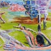 Her Recreations Art Print