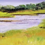 Her River Dream Art Print