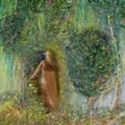 Her Secret Garden Art Print