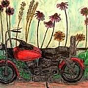 Her Wild Things  Art Print