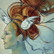 Hera Art Print by Jacque Hudson
