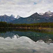Herbert Lake Reflections  Art Print