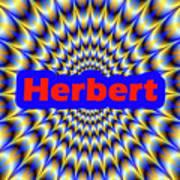 Herbert Art Print