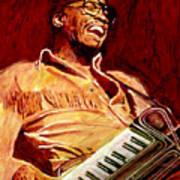 Herbie Hancock Rockit Art Print