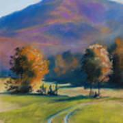 Herbstfarben Bei Aschau Art Print