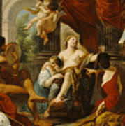 Hercules And Omphale Art Print