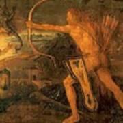 Hercules Kills The Symphalic Bird 1520 Art Print