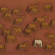 Herd 1 Print by Sophy White
