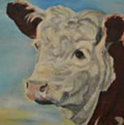 Hereford Profile Art Print