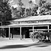 Heritage Town Of Echuca - Victoria Australia Art Print