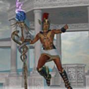 Hermes Messenger To The Gods Art Print