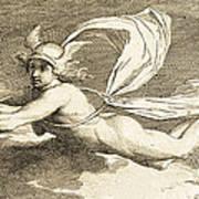 Hermes With Caduceus, 1791 Art Print