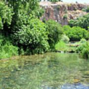 Hermon Stream Nature Reserve Art Print