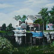 Hernando Beach Art Print