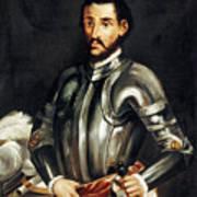 Hernando De Soto Art Print