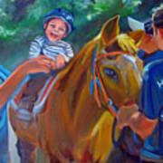 Heroes On Horseback Art Print