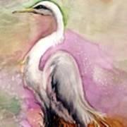 Heron Serenity Art Print