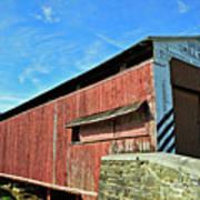 Herrs Mill Bridge Art Print