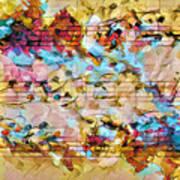 Heterophony Squared 2 Art Print