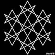 Hexagrammaton Art Print