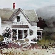 Heyl House, Minneapolis, Kansas Art Print