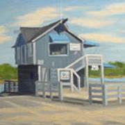 H.h. Boat House Art Print