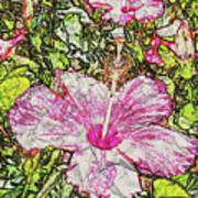Hibiscus 101516 1a Art Print