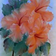 Hibiscus Delight Art Print