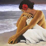 Hibiscus Dreaming Art Print