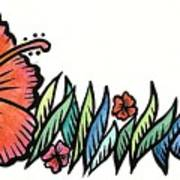 Hibiscus Guam 2009 Art Print