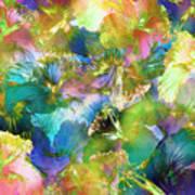Hibiscus Trumpets Art Print