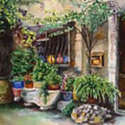 Hidden Courtyard Art Print