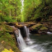 Hidden Falls At Rock Creek Art Print