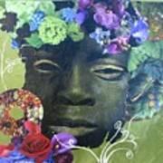 Hidden Hydrangea Art Print