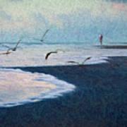 Hide Tide Art Print