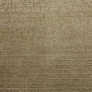 Hieroglyph V Art Print
