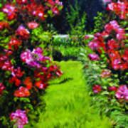 Higdon House Pink  Art Print