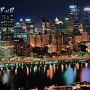 High Above Pittsburgh Art Print