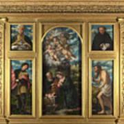 High Altarpiece S Alessandro Brescia Art Print