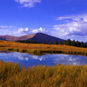 High Country Pond Art Print