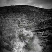 High Desert Flames Art Print